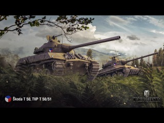 World of Tanks Škoda T 50 - 5 Kills 10,4K Damage