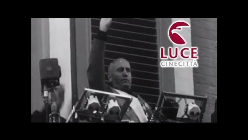 Il discorso del Duce a Bari - Inaugurazione della V Fiera del Levante