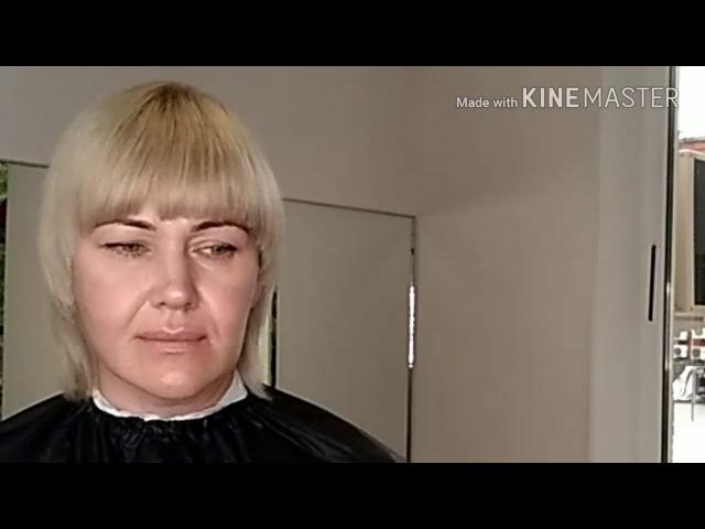 Видеоурок 11. Графичная женская стрижка с легкой ассиметрией.