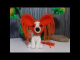 Брелок- щенок Рыжик! Keychain - puppy Redhead! Amigurumi. Crochet.