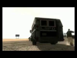 Побег из тюрьмы в ГТА САМП. Escape from prisone in GTA SAMP