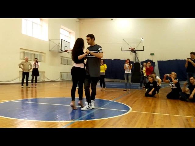 Ilya and Irina Kizomba Workshop. Saratov Kizomba Weekend 007