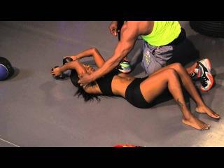 Billy Blanks - Tae Bo 1 on 1 10 minute cardio BURN | Билли Блэнкс - Кардио-тренировка