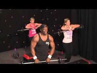 Billy Blanks - Tae Bo Flex: Learn the moves | Билли Блэнкс - Кардио-тренировка со штангой