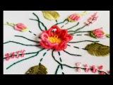 ВЫШИВКА ЦВЕТОЧЕК РОКОКО EMBROIDERY BULLION FLOWER