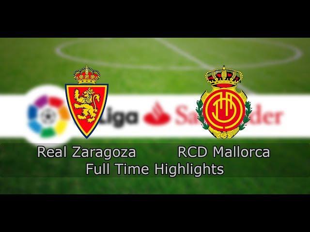 Real Zaragoza - RCD Mallorca | Winning Eleven 9 Online | 7th season | La Liga | 13th tour