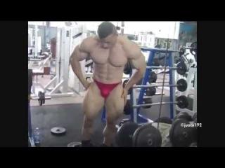 Bodybuilder Osama posing/ Bodybuilding HD