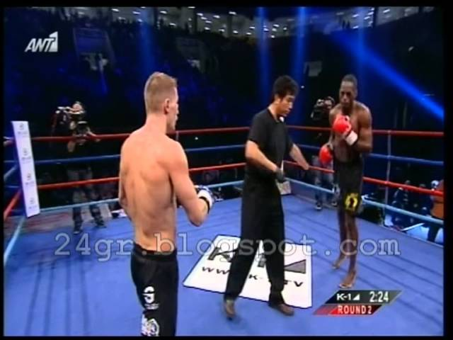 K-1 WORLD MAX 2012 FINAL - Murthel Groenhart vs Artur Kyshenko