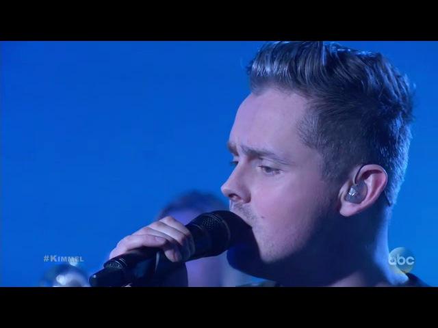 Tom Chaplin - Quicksand [Live At Jimmy Kimmel] Performance