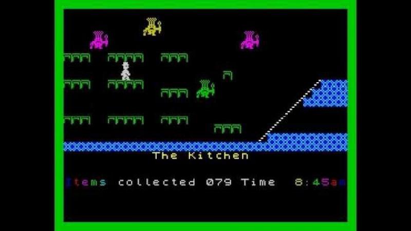 Jet Set Willy, Прохождение, ZX Spectrum