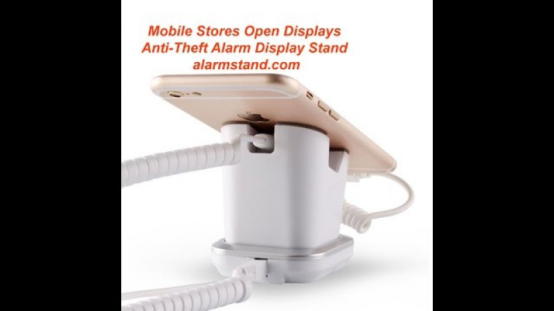 COMER Anti-Theft Alarm Security Display stand for Phone/Tablet Retail Shop