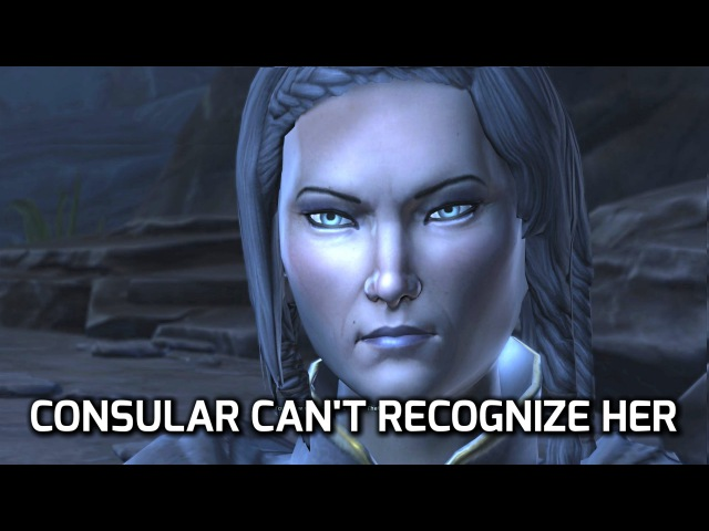 SWTOR: Jedi Consular Does Not Recognize Satele Shan Chapter 12 KOTFE