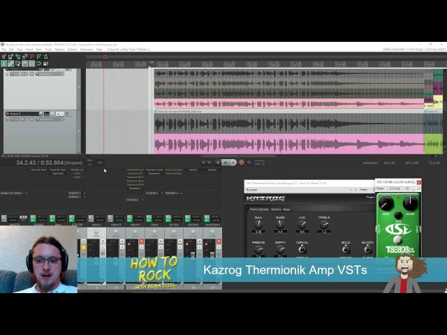 Thermionik Amps by Kazrog - GREAT GUITAR AMP VSTs - HOW TO ROCK