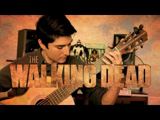 The Walking Dead Theme - Acoustic Guitar Cover (Free Tabs + Sheet Music)