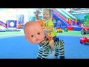 Беби Бон кукла и детская площадка. ВЛОГ Развлечение для детей. Видео для детей Fun ...