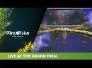 Jon Anina – En värld av strider(Alanem)LIVE at the Grand Final of the 2041 Minevision Song Contest