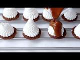 Меренга под шоколадом  Meringue for chocolate