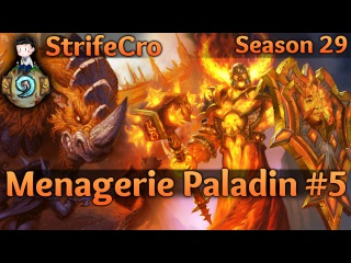 Hearthstone Menagerie Paladin S29 5: Always Learning Something New