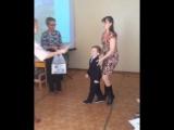 Вручение диплома Рябову Виктору