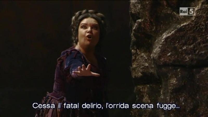 Il Trovatore La Scala 2014 Condotta ellera in ceppi Ekaterina Sementchuk