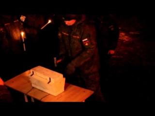 Похороны в войсковой части г.Уссурийск
