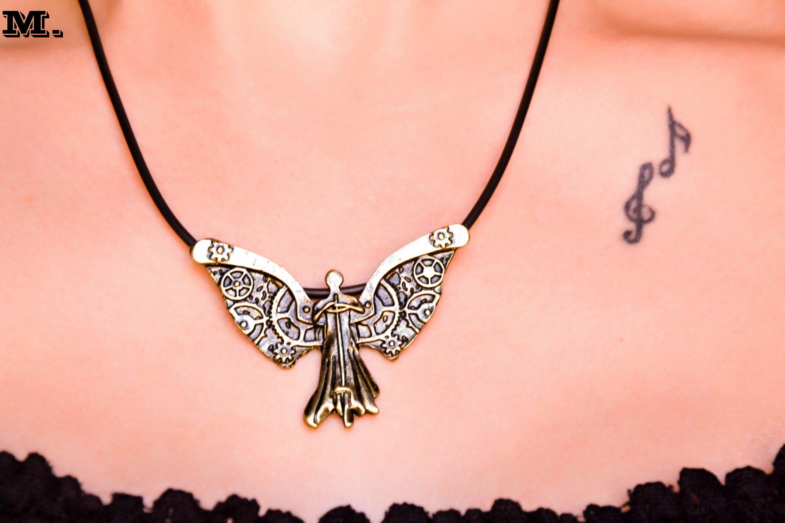 Ангел в стиле стимпанк для поклонников творчества Кассандры Клэр