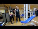 Красивая женская грудь_ упражнения на грудные мышцы