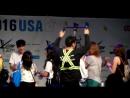 Fancam ASTRO Fan engagement hitouch KCON16LA @ cr bellank18