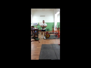 Дмитрий Сорокин.Тяга в наклоне 145 кг.Белорецк.
