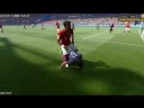 Баги в FIFA 17.