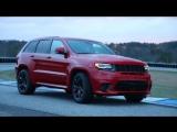 отрывки из съёмки для  рекламы Jeep SRT TrackHawk (2018)
