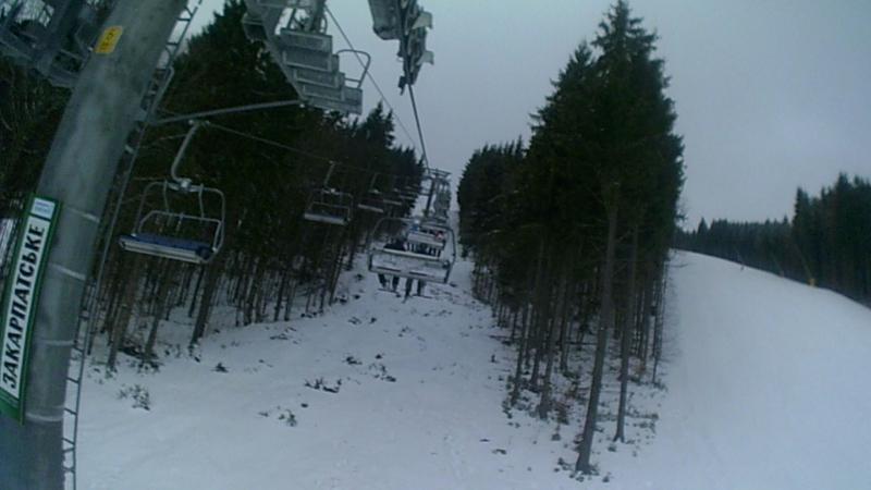 я і лижі