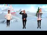 MBAND. Заставка «Согреем в новый год» на МУЗ-ТВ