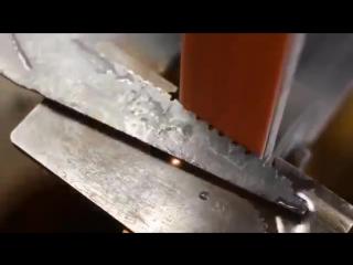 Изготовление из арматуры метательного ножа