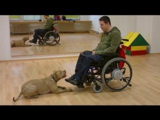 Настоящий Человек и его собака!