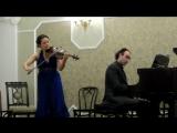 Мария Шалгина (скрипка), Олег Вайнштейн (фортепиано)