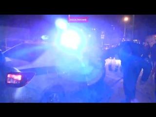 Появилось видео задержания мужчины, пытавшегося захватить синагогу в Москве.