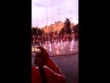 На цветном фонтане у Драмтеатра. Часть 2