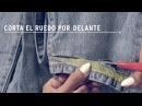 Cómo customizar tus jeans 501®CT como Pam Allier. LiveInLevis