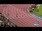 Cassandra Tate Wins Women's 400m Hurdles Diamond League Brussels 2016