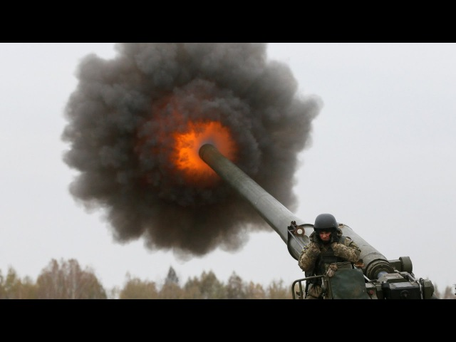 Monstrously Powerful 2S7 Pion, Msta-B, D-20 Artillery in Action - Heavy Live Fire