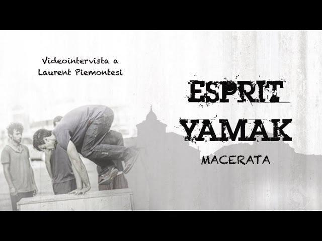 Esprit Yamak Macerata - Videointervista a Laurent