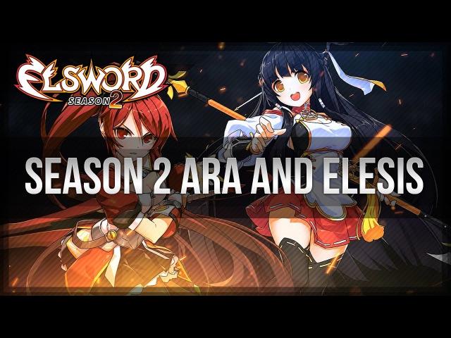 Elsword Official - Season 2 Ara and Elesis Trailer featuring Tengger Cavalry