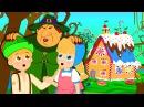 Hänsel und Gretel Gute Nacht Geschichte | Märchen für Kinder Animation HD auf Deutsch
