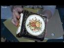 Использование меловых акриловых красок в декупаже Имитация акварели Юлия Валь