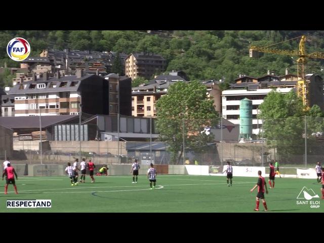 Энгордань - Ордино - 0:3 (Примера Андорры, 27 тур, сезон 2016/17)