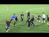 Steal the Bibs Warm Up Game
