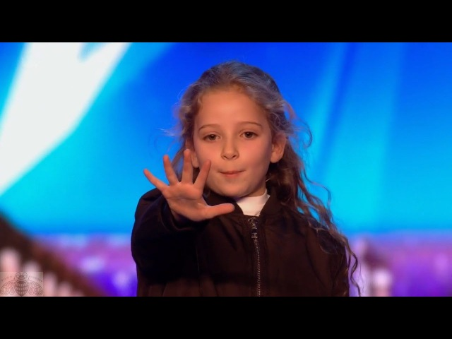 Britains Got Talent 2017 Issy Simpson Amazing 8 Year Old Magician IRL Hermione Full Audition S11E02