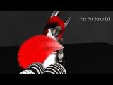 Furry market -  Fire FOX  Bento Tail