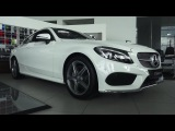 2017 Mercedes-Benz C180 Coupe Sport. Start Up, Engine, and In Depth Tour.